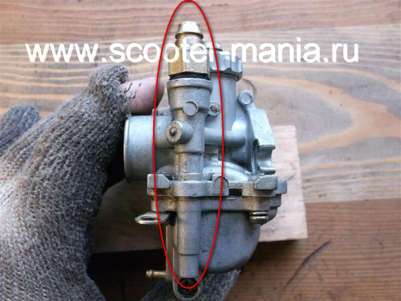 Карбюратор-скутера-2t-ремонт-
