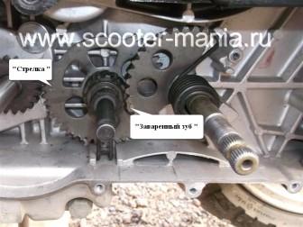 кикстартер-на-скутере-объемом-150-CC-ремонт-устройство-установка-.345349