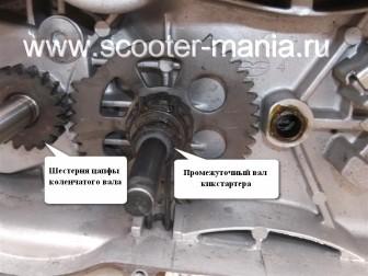 кикстартер-на-скутере-объемом-150-CC-ремонт-устройство-установка-.35