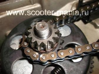 сборка-двигателя-1E41QMB-скутера-2Т107
