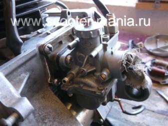 сборка-двигателя-1E41QMB-скутера-2Т130