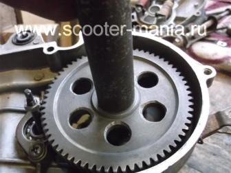 сборка-двигателя-1E41QMB-скутера-2Т74