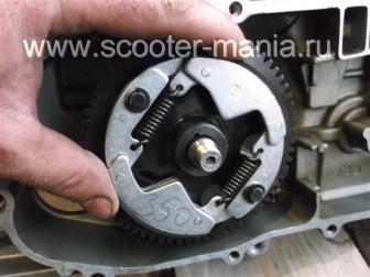 сборка-двигателя-1E41QMB-скутера-2Т77