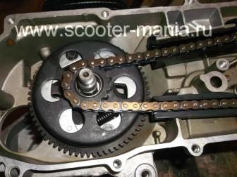 сборка-двигателя-1E41QMB-скутера-2Т98
