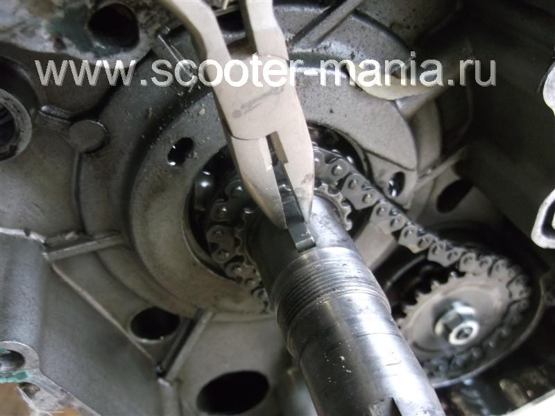 Фотоотчет: Разборка двигателя 157QMJ скутера Atlant (150CC) Scooter-mania.ru - скутеры и мотоциклы