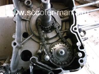 разборка-двигателя-157QMJ-скутера-4t-объемом-150-CC182