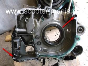 разборка-двигателя-157QMJ-скутера-4t-объемом-150-CC201