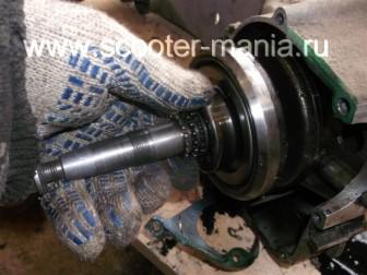 разборка-двигателя-157QMJ-скутера-4t-объемом-150-CC216