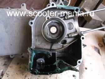разборка-двигателя-157QMJ-скутера-4t-объемом-150-CC222