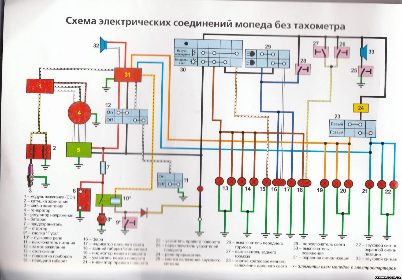 схема подключения реле на ксенон