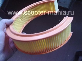 Восстановление-фильтрующего-элемента-на-скутере2