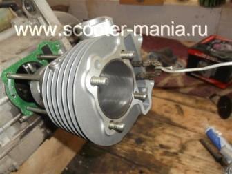 замена-установка-поршневой-на-скутере-4Т-объемом-200-СС65