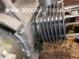 замена-установка-поршневой-на-скутере-4Т-объемом-200-СС81