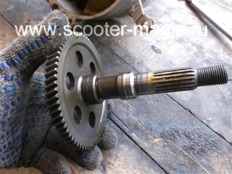 Полная-разборка-двигателя-скутера-2Т185