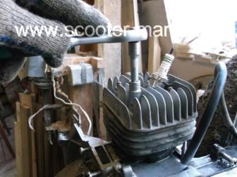 Полная-разборка-двигателя-скутера-2Т51