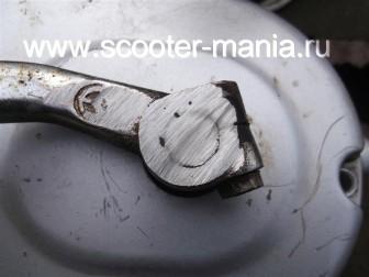 ремонт-кикстартера-на-двухтактном-скутере3
