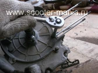 разборка-двигателя-157QMJ-скутера-4t-объемом-150-CC122