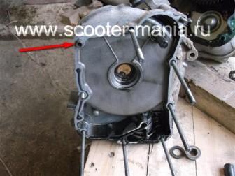 разборка-двигателя-157QMJ-скутера-4t-объемом-150-CC132