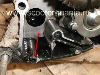 разборка-двигателя-157QMJ-скутера-4t-объемом-150-CC136