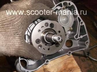 сборка-ремонт-двигателя-157-QMJ-скутера-4т134