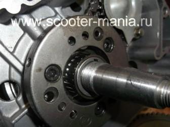 сборка-ремонт-двигателя-157-QMJ-скутера-4т141