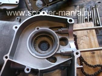 сборка-ремонт-двигателя-157-QMJ-скутера-4т151