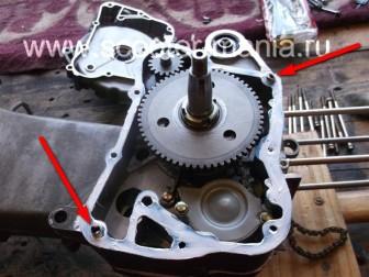 сборка-ремонт-двигателя-157-QMJ-скутера-4т158
