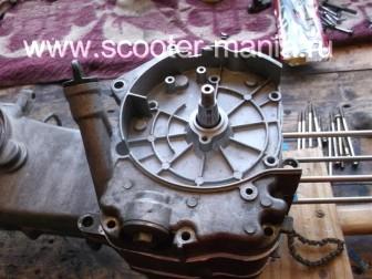 сборка-ремонт-двигателя-157-QMJ-скутера-4т159