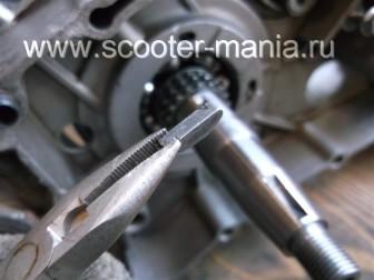 сборка-ремонт-двигателя-157-QMJ-скутера-4т40