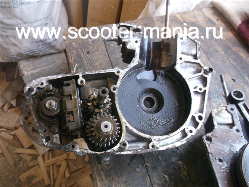 Фотоотчет: Разборка двигателя мотоцикла «Восход-3М»