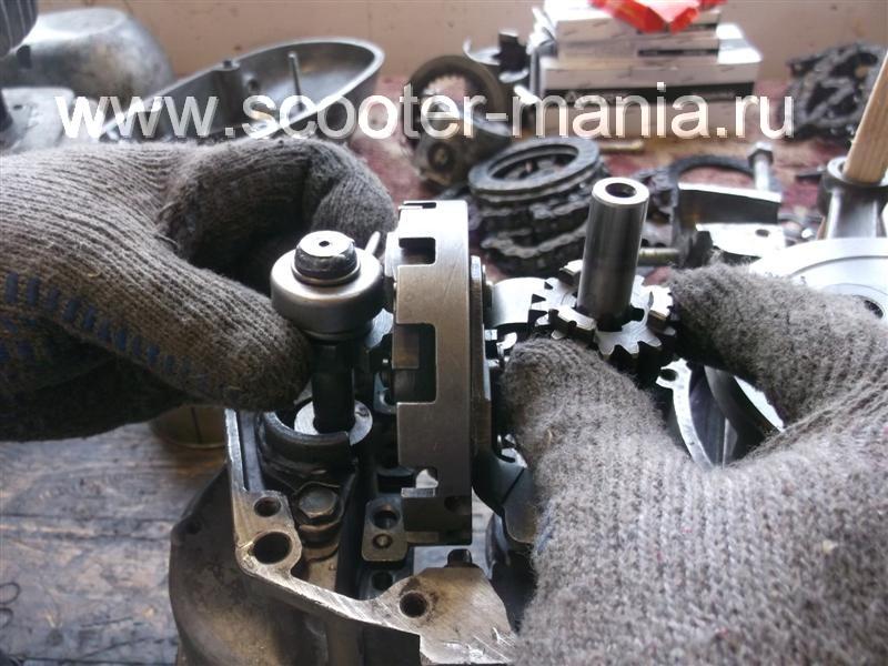 Фотоотчет: Сборка КПП (коробки) мотоцикла «Восход-3М»