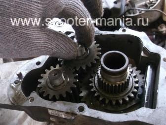 Разбираем-двигатель-QJ-1E40QMB-квадроцикла-Stels-ATV-50130