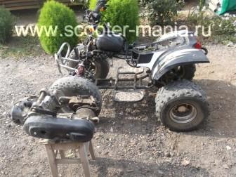 Разбираем-двигатель-QJ-1E40QMB-квадроцикла-Stels-ATV-5019