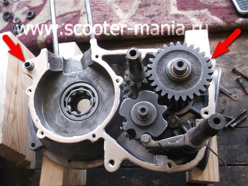 Фотоотчет: Ремонт двигателя мотороллера «Муравей»