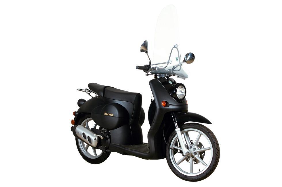 Новый скутер  Alpha 50 Benelli от компании Stels