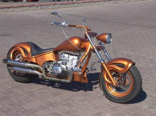 Тюнинг мотоцикла Урал, который не помешает классике