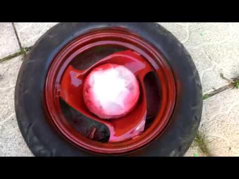 Покраска дисков на моём скутере Yamaha Jog. Тюнинг скутера. Часть 3. Оживление скутера.